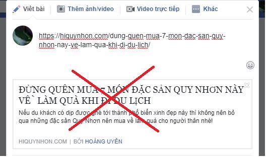 Sửa lỗi chia sẻ link Facebook không hiện ảnh thumbnail mới nhất