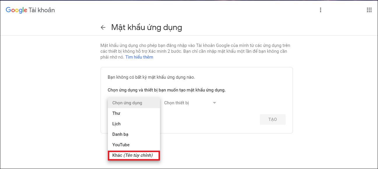 Cấu hình gửi mail smtp
